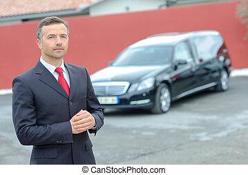 driver, limousine