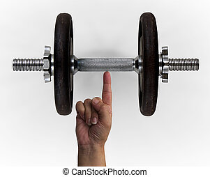 dumbbell, dito