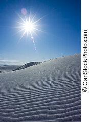 dune, sabbia, increspature