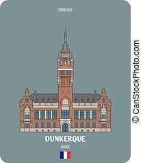 dunkerque, salone, francia, città