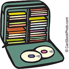 dvd, dischi, o, cd