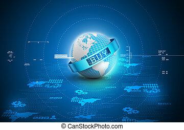 e-commercio, concetto