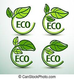 eco, 2, etichetta