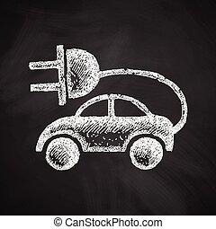 eco, automobile, icona