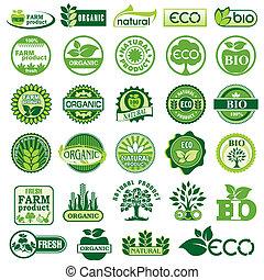 eco, bio, etichette