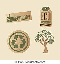 eco, etichette