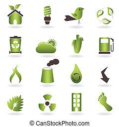 eco, simboli, icone