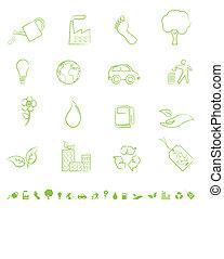 eco, simboli, verde
