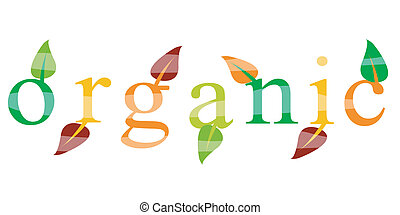 ecologia, organico, icona