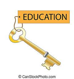 educazione, chiave