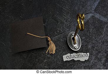 educazione, chiave oro