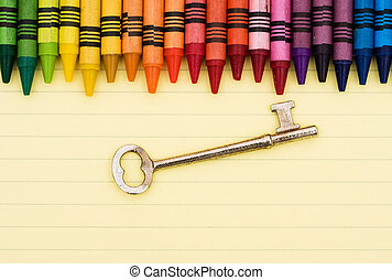 educazione, chiave, successo