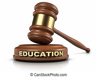 educazione, legge