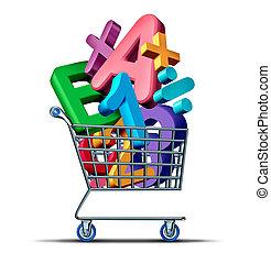 educazione, shopping
