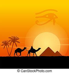 egitto, simboli, piramidi