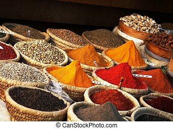 egiziano, spezia, mercato
