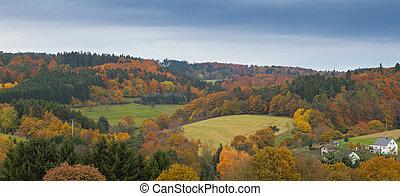 eifel, paesaggio, germania