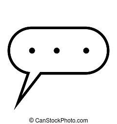 elaborazione, simbolo, vettore, segno, informazioni, pensare, icona, analisi, pensare