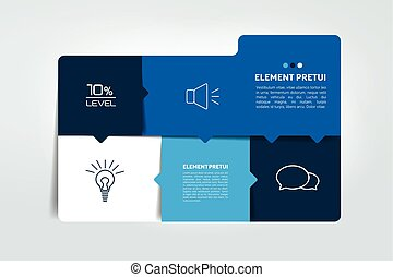 element., tavola, scatola, chart., orario, infographics