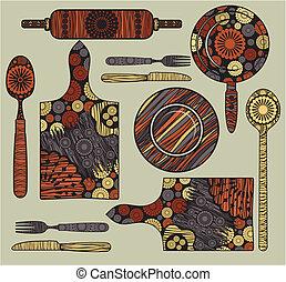 elementi, cucina
