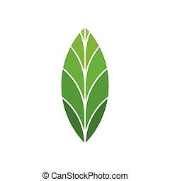 elemento, segno, logotipo, bio, verde, eco, foglia, simbolo