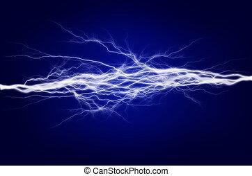 elettricità, energia, puro