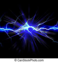 elettricità, scioccante