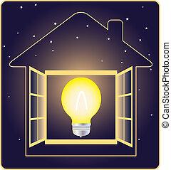 elettricità, simbolo