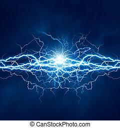elettrico, effetto, sfondi, astratto, techno, illuminazione, disegno, tuo