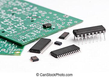 elettronica micro, asse, elemento