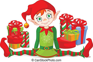 elfo, regali natale