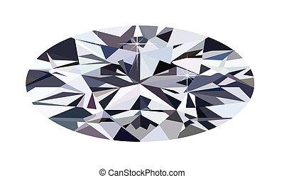ellisse, diamante