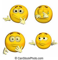 emoticon, -, 6of9, pacco