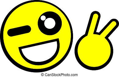 emoticon, divertente
