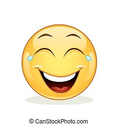 emoticon, gioia, pianto, ridere