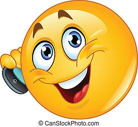 emoticon, telefono cellulare
