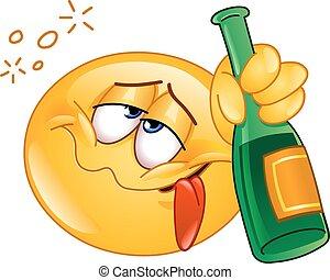 emoticon, ubriaco