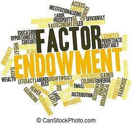 endowment, factor