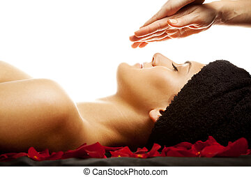 energia, massaggio facciale