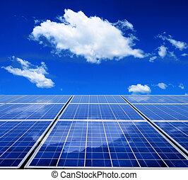 energia, pannello solare