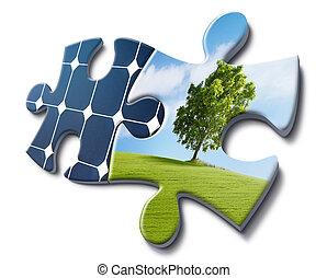 energia, solare, amori, natura