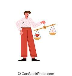 equilibrio, etica, uomo