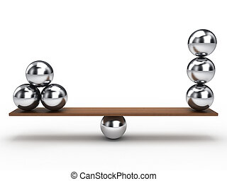 equilibrio, palla