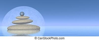 equilibrio, -, render, 3d