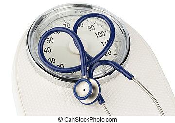 equilibrio, stetoscopio