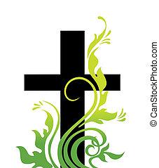 erba, pasqua, croce