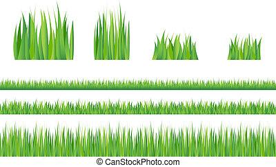 erba, verde