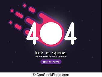 errore, 404, pagina