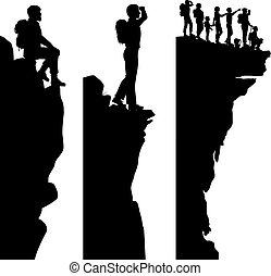 escursionista, viewpoints