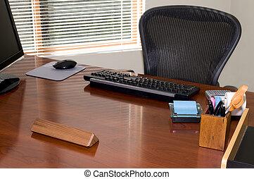esecutivo, scrivania